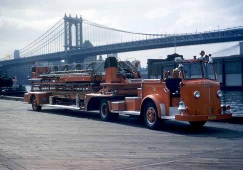 1956 American LaFrance (ALF) 85 Ft. Tiller